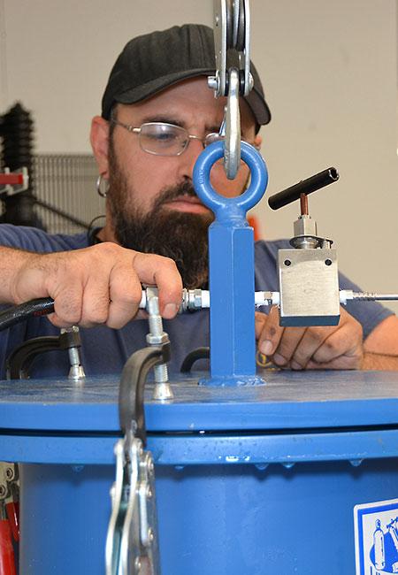 Hydrotesting