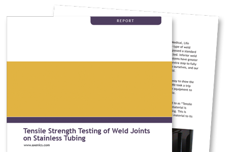 Tensile Strength Report CTA