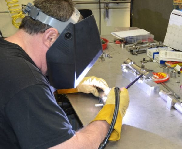 Welding Services at Axenics