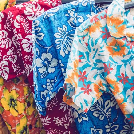 Hawaiian shirts for wild shirt day at Axenics